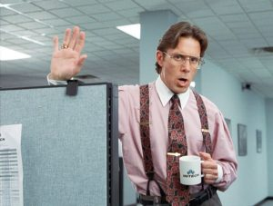 Office Space Job Frustration