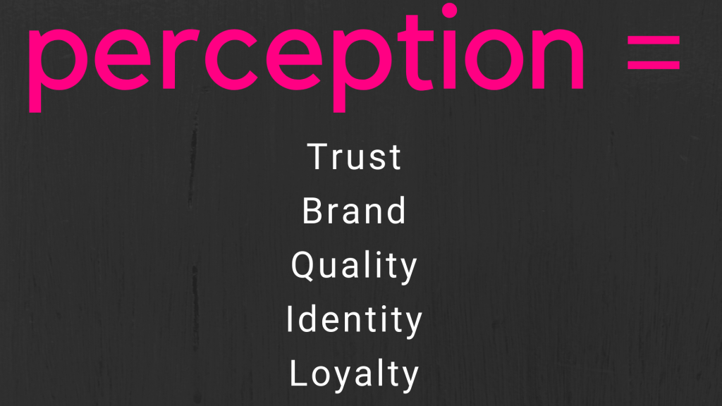 Trust, brand, identity, loyalty are important in the job search. How are you perceived?