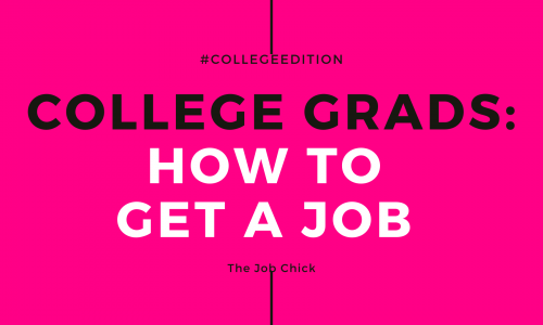 How to get a job after college